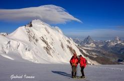 Lyskamm - Matterhorn - Dent Blanche