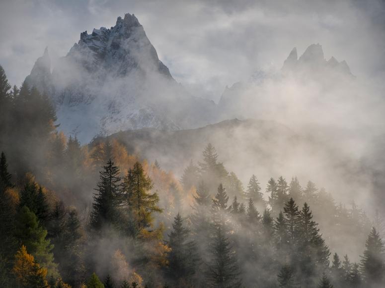 Clearing Mountains, Chamonix, France, November 2013
