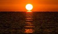 Răsărit pe malul Mării Adriatice